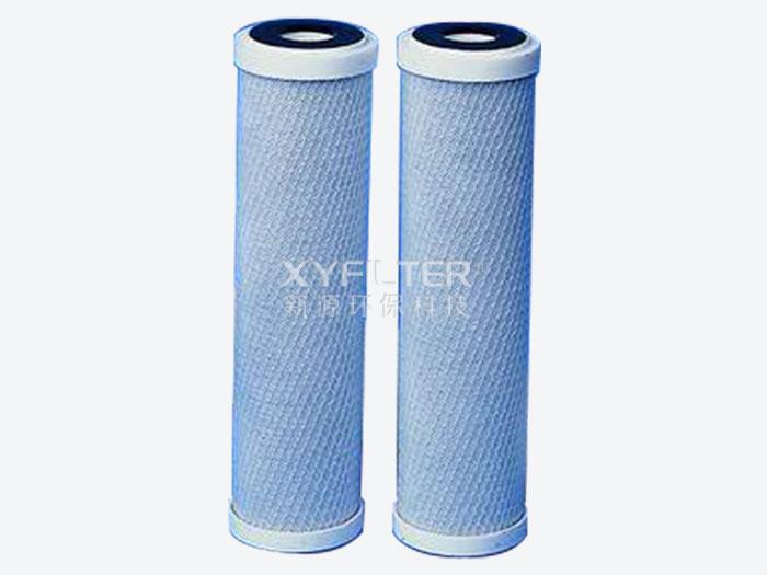 颗粒压缩活性炭 碳纤维UDF滤芯